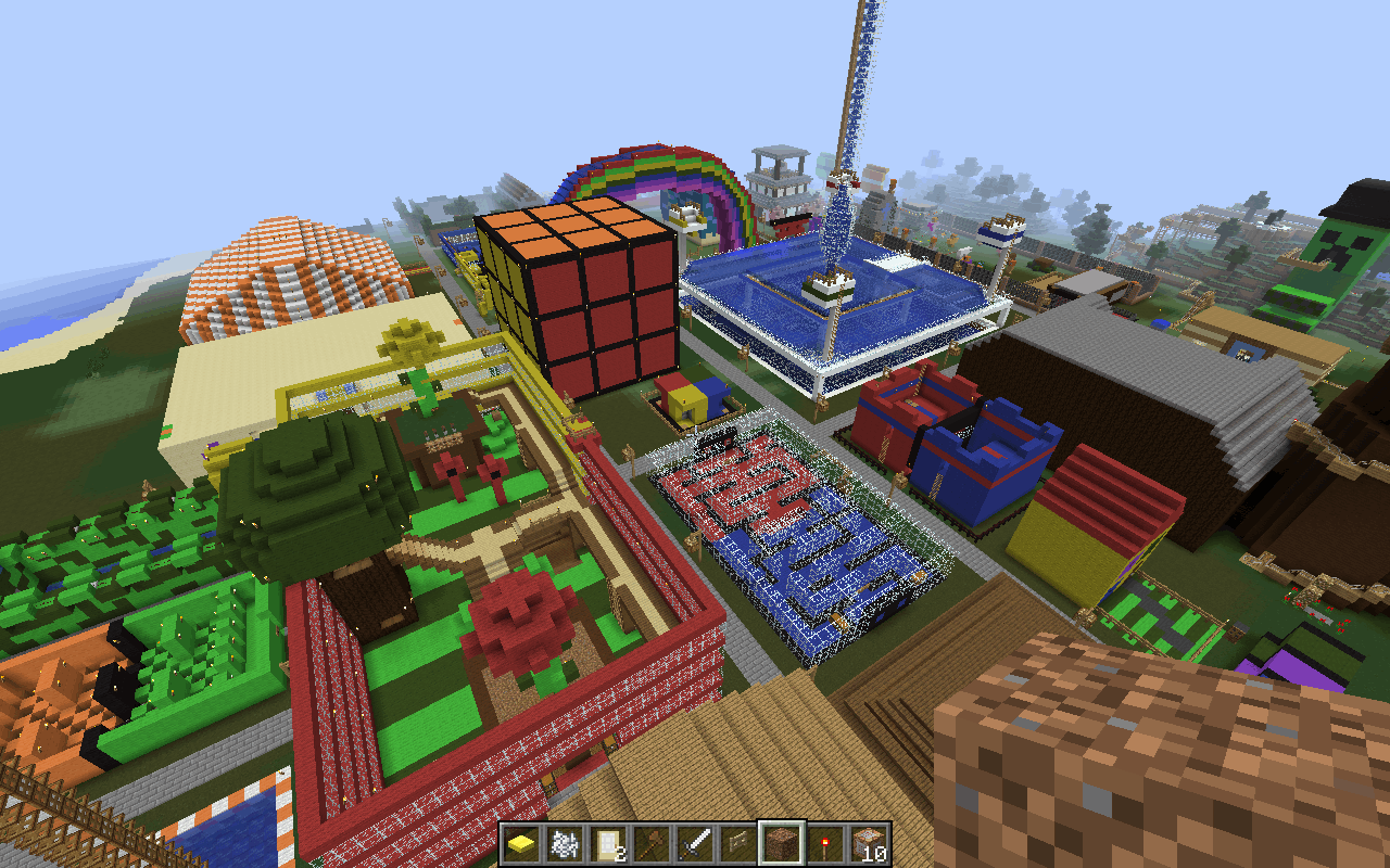 Stampy's funland now on my Minecraft server! – Billys Website
